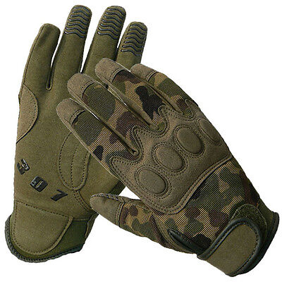 Men Women Outdoor Sports Camo Climibing Gloves Cycling Military Camping Gloves
