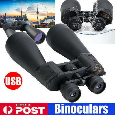 Portable 70mm Tube 20x-180x100 Super Zoom HD Night Vision Binoculars Waterproof