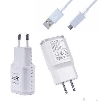 New Genuine Travel Fast Wall Charger + USB Cable For LG G2 G3 G4 Nexus 5 Android
