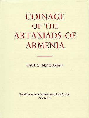 Coinage Of The Artaxiads Of Armenia Royal Numismatic Society S.p. # 10 Bedoukian