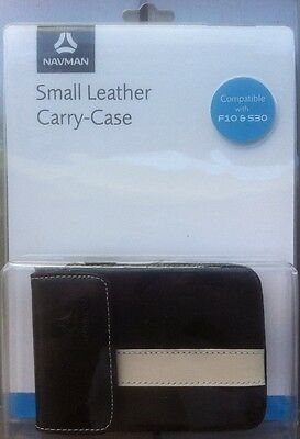 Navman brand leather Protective Case compatible with F10 & S30 BN