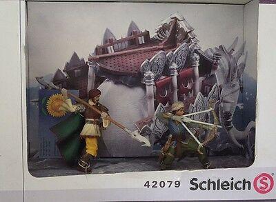 Schleich Kampfelefant Aufsatz 42079 fighter elephant attachement new OVP NEU
