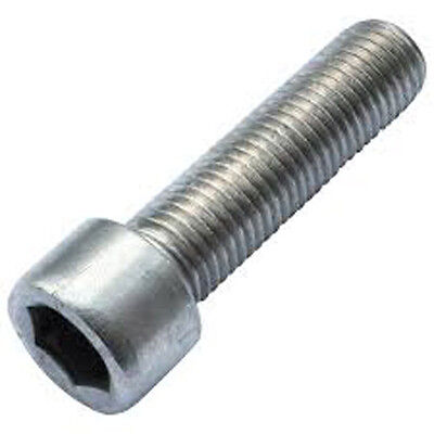 Stainless Steel A2 Metric M5 X 20 Socket Cap Screw  pack of 10