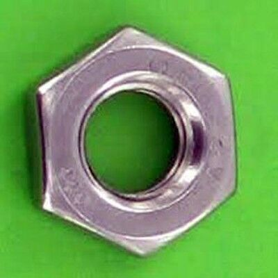 Metric Stainless Steel A2 Thin Jam Nut M12 X 1.75 Pack of 5
