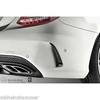 Mercedes Benz AMG additional Flics Complete Kit C Class W205 black