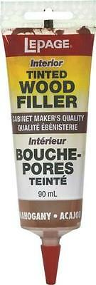 Lepage Henkel TINTED WOOD FILLER 393938 MAHOGANY 90ml stainable paintable