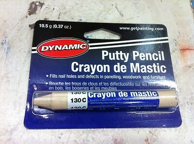 Dynamic PUTTY PENCIL NATURAL PINE FILL 130C PA10130C painting supplies filler