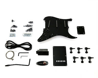 Pit Bull Guitars ST-1 Pickup and Hardware Upgrade – Black