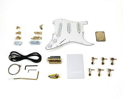 Pit Bull Guitars ST-1 Pickup and Hardware Upgrade – Gold