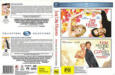 Just Like Heaven-2005-Reese Witherspoon/How To Lose A Guy In 10 Days-Movie-2 DVD