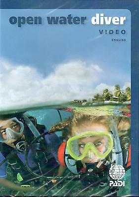 PADI Open Water DVD Training Materials for Scuba