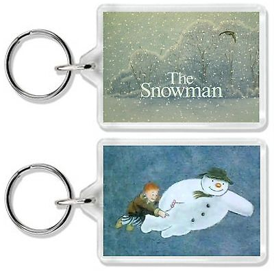 The Snowman Classic Tv And Dvd Movie Keyring *great Gift* Uk Seller