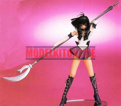 Sailor Moon Saturn Posting With Spear 1/6 Unpainted Resin Figure Model Kit