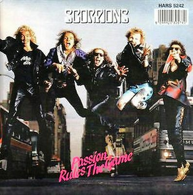 "LP-12"" 45 giri-Scorpions ‎– Passion Rules The Game-UK 1988-N.MINT"