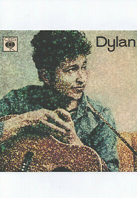 BOB DYLAN POSTER, 1964 EP cover. 60's folk.