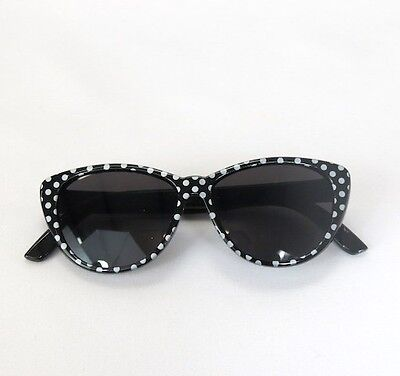 "Doll Clothes 18"" Sunglasses Black Polka Dot Fits American Girl 18 Inch Dolls"