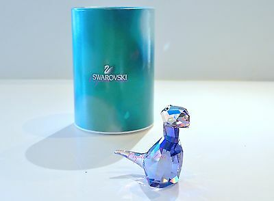 Swarovski Lovlots Dinosaur Big T Colorful Purple 1143457 Brand New In Box