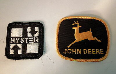 John Deere & Hyster Construction Patches