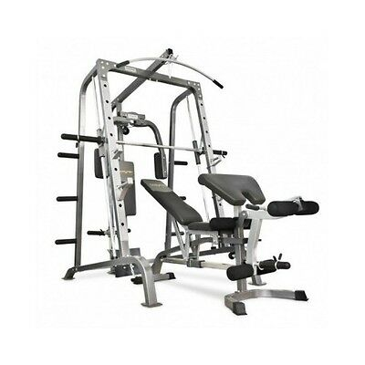 Body Workout Multi Gym Machine Weights Rack Station Home Fitness Exercise Bench