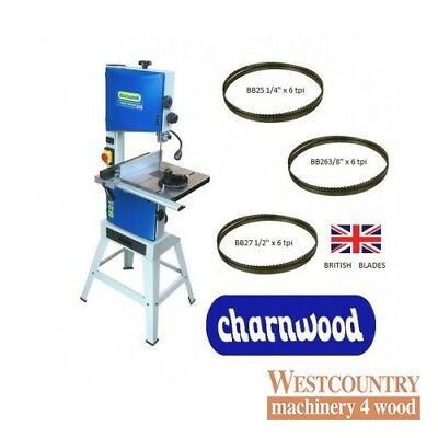"Charnwood B250-PACK 10"" Premium Woodworking Bandsaw (Package Deal)"