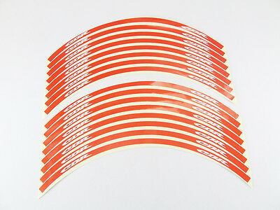 Reflective Motorcycle Rim Tape Red - Honda CBR1000RR(Repsol Limited Edition)
