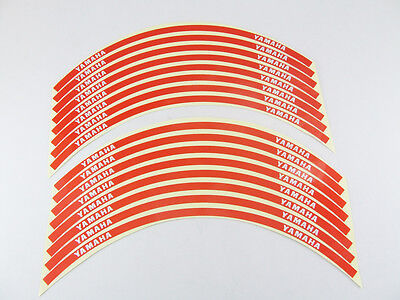 Reflective Motorcycle Rim Tape Red - Yamaha YZF-R15 YZF R 150