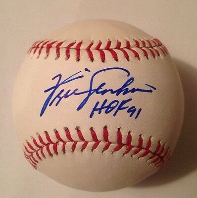290116c45a2 FERGIE JENKINS AUTOGRAPHED Major League Baseball - HOF - CHICAGO ...