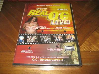 Chicano Rap DVD the Real OC Live - Car shows Hot Girls Videos Comedy Artists
