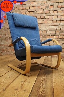 Retro 60s EASY CHAIR DANISH ARM CHAIR WING ARMCHAIR Mid-Century Vintage