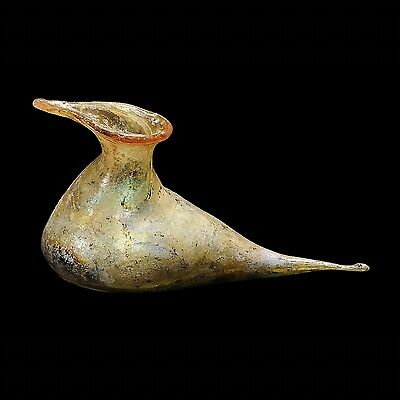 Aphrodite- Ancient Roman Bird Shaped Glass Flask