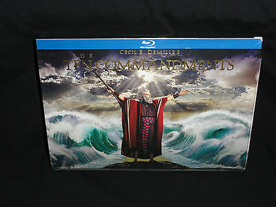 The Ten Commandments, Blu-ray 6-Disc Blu-ray & DVD Combo Set!