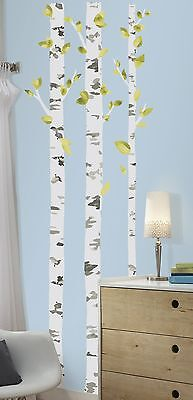 RoomMates RMK2662GM Birch Trees Peel and Stick Giant Wall Decals RoomMates