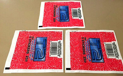 Terminator 2 - T2  - 50x Wax Pack Card Wrappers - 1991 TOPPS - NO TEARS !