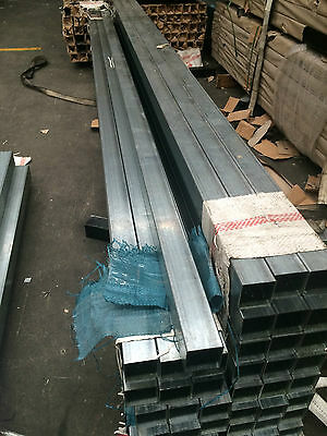 Galvanised Steel Fence Posts 65x65x1.5x2400mm For Security Fence Panel