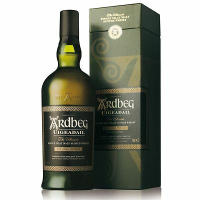 Ardbeg Uigeadail Single Malt Scotch Whisky 700mL