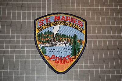 St. Maries Idaho Police Department Patch (T3)