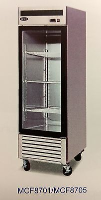 NEW 1 Glass Door Freezer Reach In Atosa 8701 #2233 Commercial Restaurant NSF