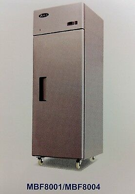 NEW 1 Door Refrigerator Atosa MBF8004 #2210 Commercial Reach In Cooler NSF
