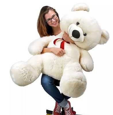 Large Teddy Bear Gift Valentine's Day Big Soft Plush Kid Girl Friend UK SELLER