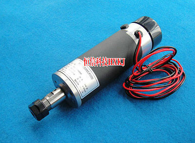 600W 13000rpm Air cooled Brushed Spindle Motor DC24-110V 600mN 57mm ER16 3.175mm