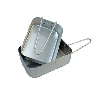 Mess Tin Set Army Type Military Cooking Camping Cookware Brit Style