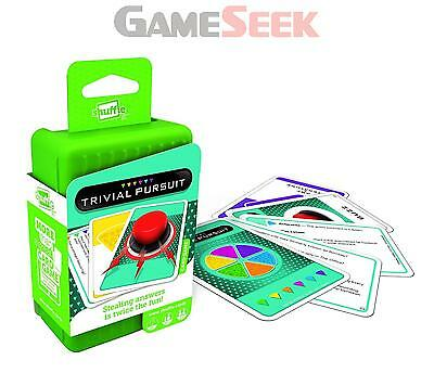Shuffle Trivial Pursuit Card Game - Toys Brand New Free Delivery