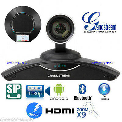 MAKE OFFER Grandstream GVC3202 Full 1080p HD Video Conferencing System Bluetooth