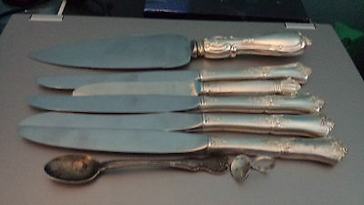 Lot of Sterling Silver 925 approximately 275 grams without blades