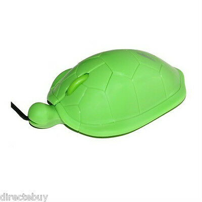 Turtle USB PC Computer Mouse for Dell Toshiba Sony Acer Asus Lenovo HP Samsung