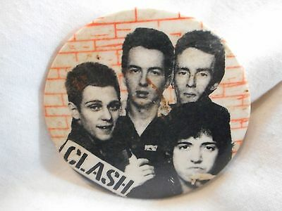 Vintage   Clash Badge