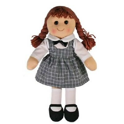 New Girls Toy Rag doll woollen hair soft body & outfit Rosie ragdoll dolly