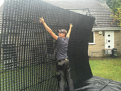 Gravel Grids Driveway Pack Of 56 14 Sq/m / Grass Protection Grid Drainage Paving