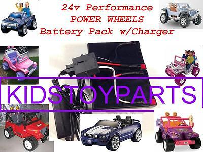 NEW! 24 Volt Conversion Kit Power Wheels Ride on Jeeps Trucks Cars $20 CASH BACK