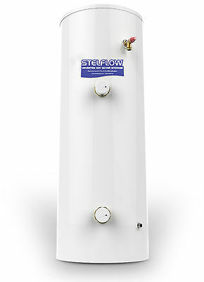 RM 120 Litre Stelflow Direct Unvented Stainless Steel Hot Water Cylinder